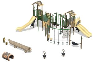 Playground Structure Model B303614R0   Henderson Recreation