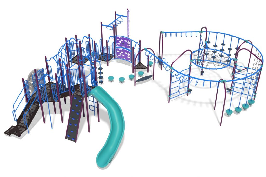 Playground Structure Model B304293R0 | Henderson Recreation