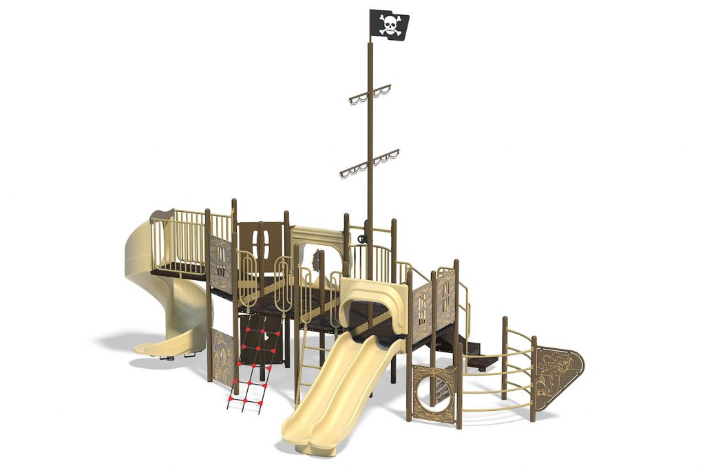 Playground Structure Model B303138R0 | Henderson Recreation