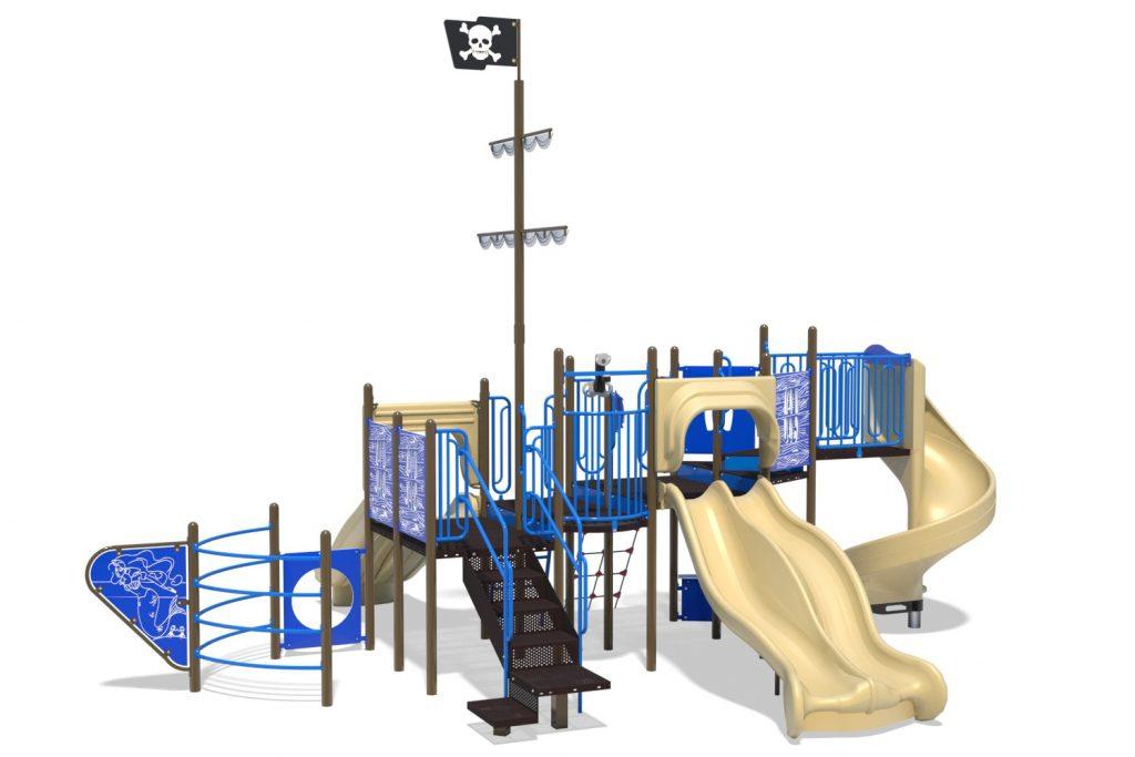 Playground Structure Model B304272R0 | Henderson Recreation