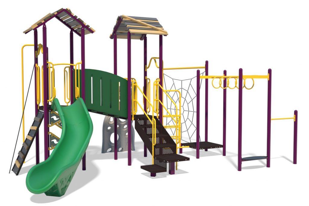 Playground Structure Model B304273R0 | Henderson Recreation