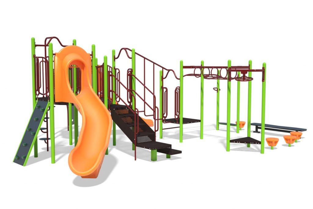 Playground Structure Model B304276R0 | Henderson Recreation