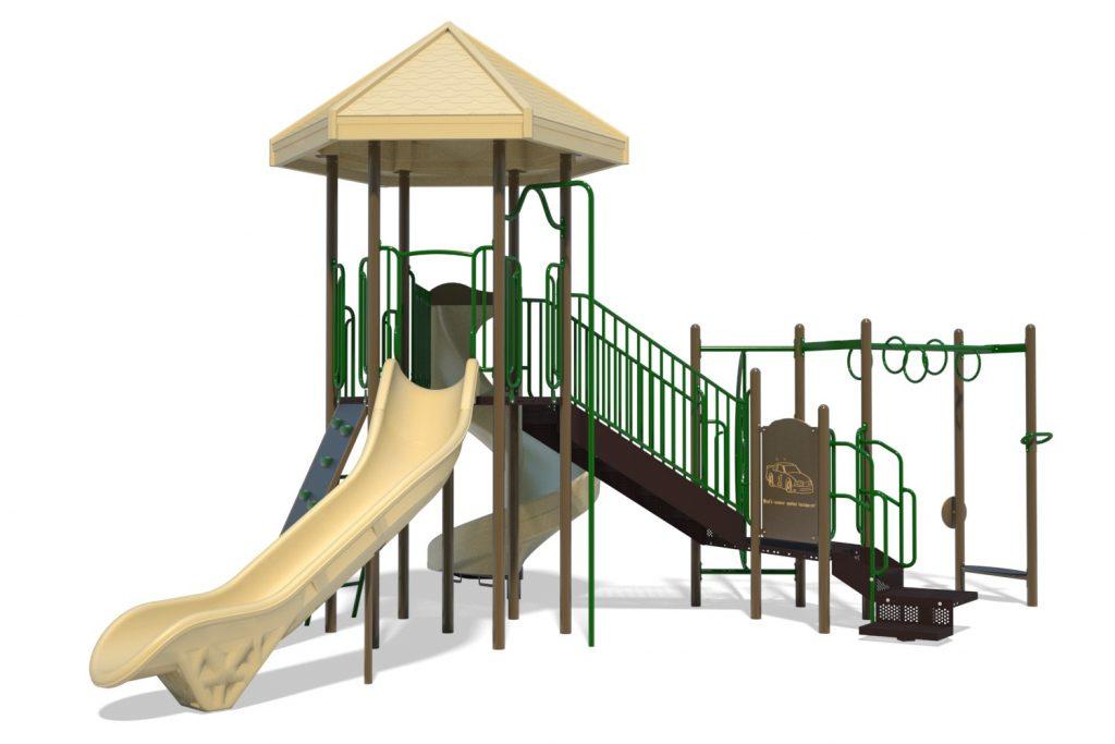 Playground Structure Model B304277R0 | Henderson Recreation