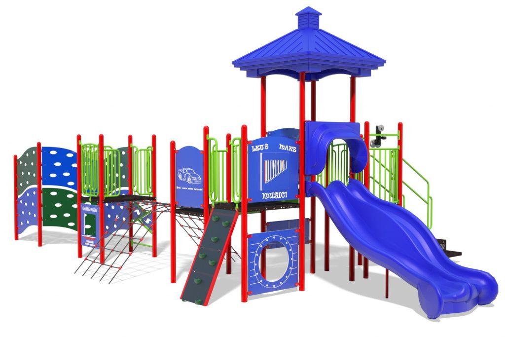 Playground Structure Model B304278R0 | Henderson Recreation