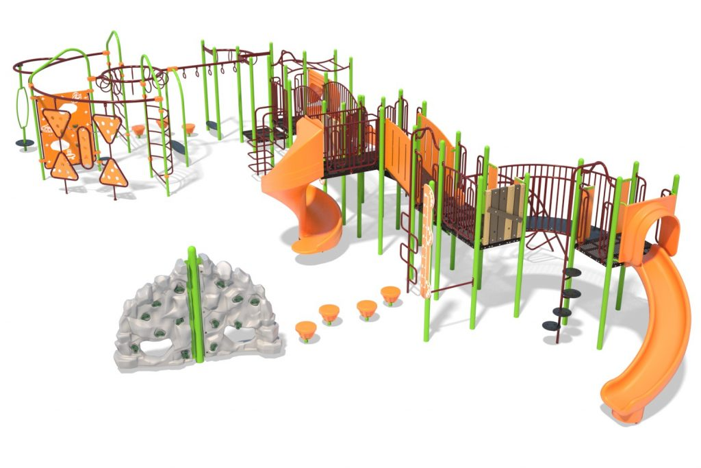 Playground Structure Model B304295R0 | Henderson Recreation