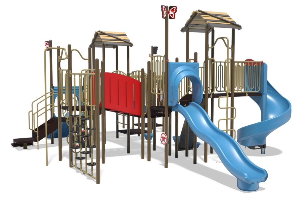 Playground Structure Model B304296R0 | Henderson Recreation