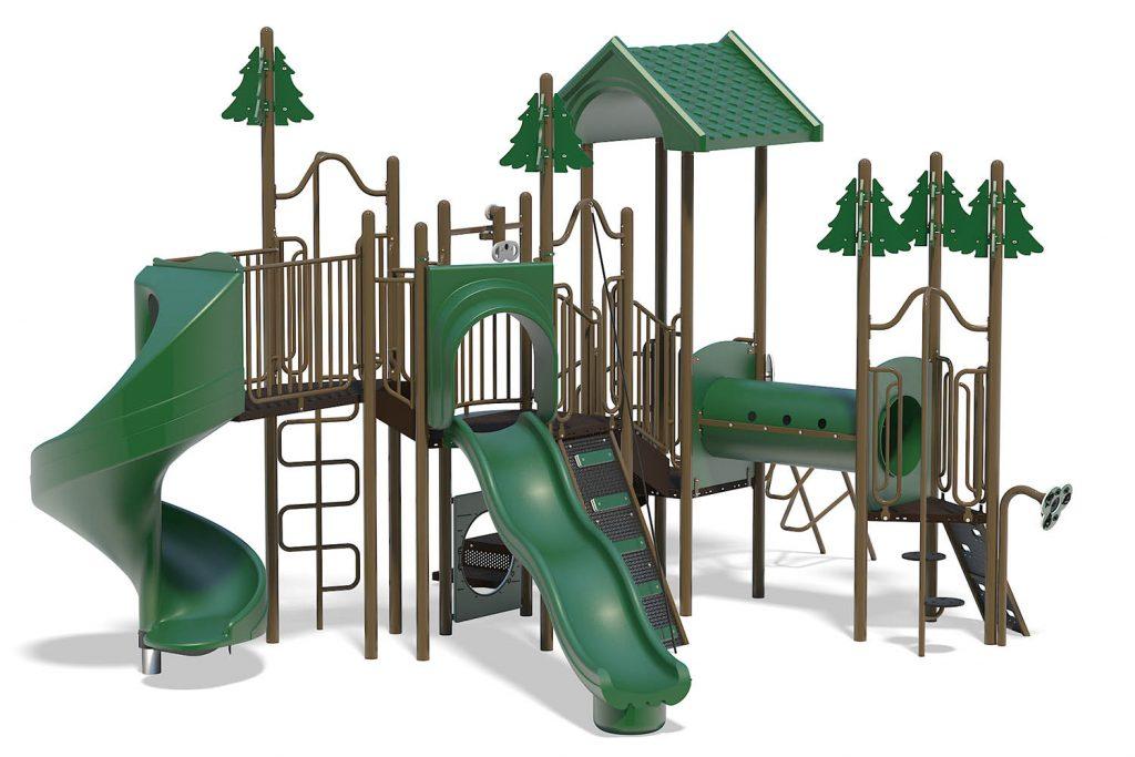 Playground Structure Model B303136R0 | Henderson Recreation
