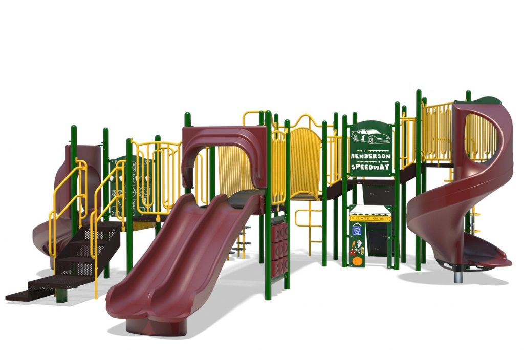 Playground Structure Model B304310R0 | Henderson Recreation