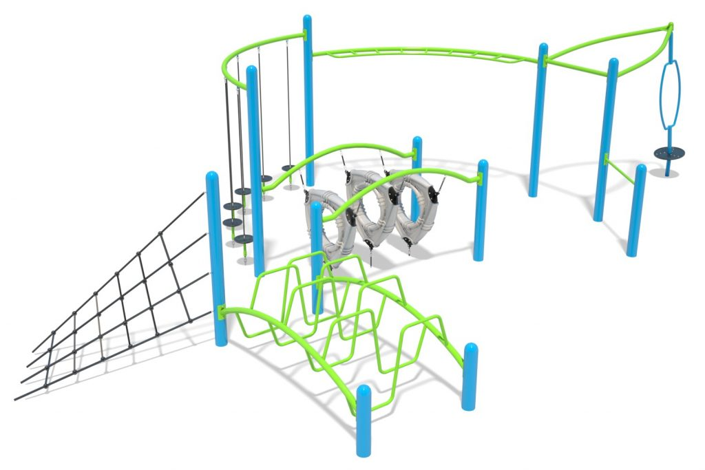 Playground Structure Model B502267R0   Henderson Recreation