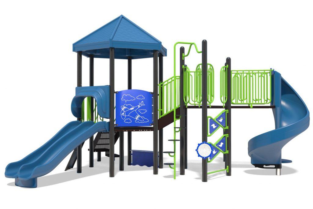 Playground Structure Model B502278R0 | Henderson Recreation