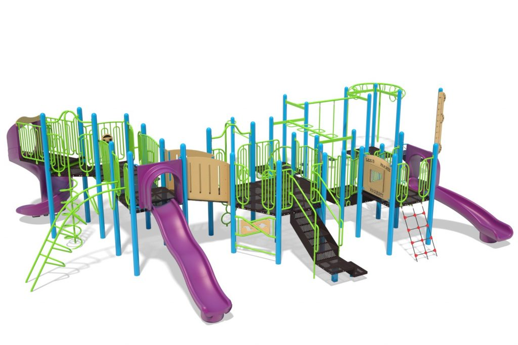 Playground Structure Model B502285R0 | Henderson Recreation
