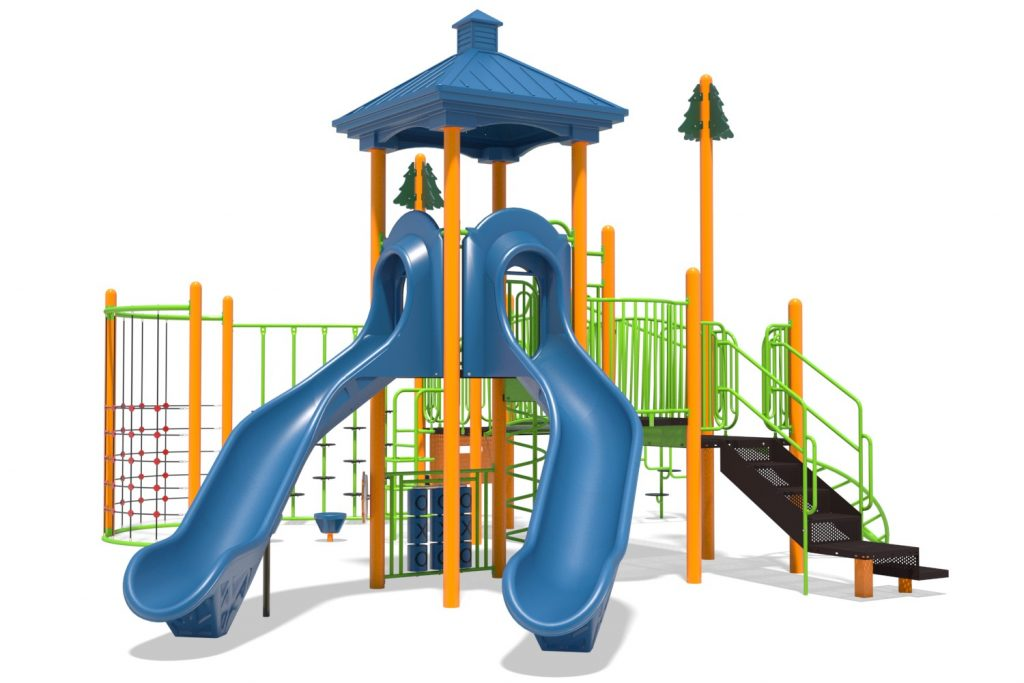 Playground Structure Model B502291R0 | Henderson Recreation