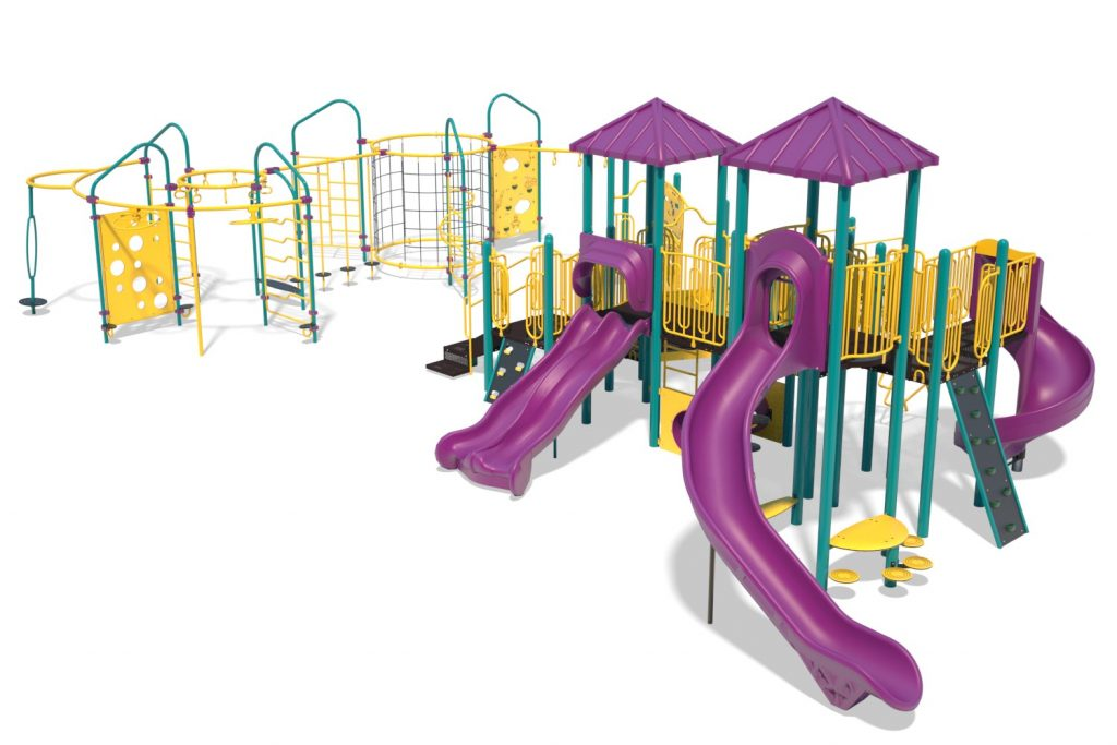 Playground Structure Model B502298R0 | Henderson Recreation