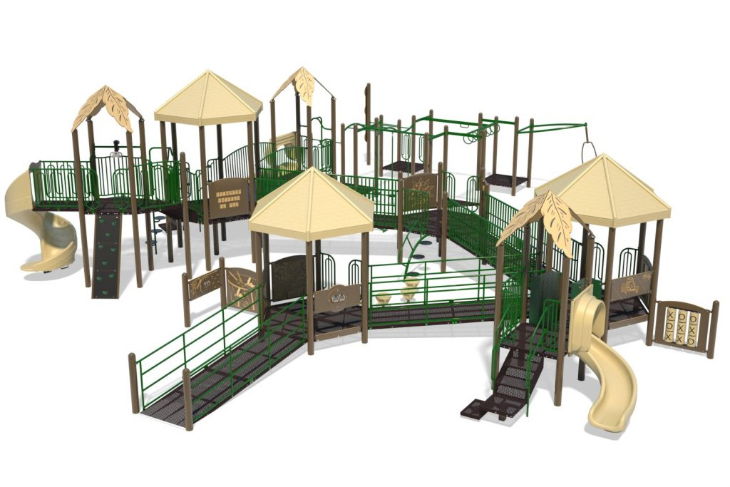 Playground Structure Model B502303R0 | Henderson Recreation