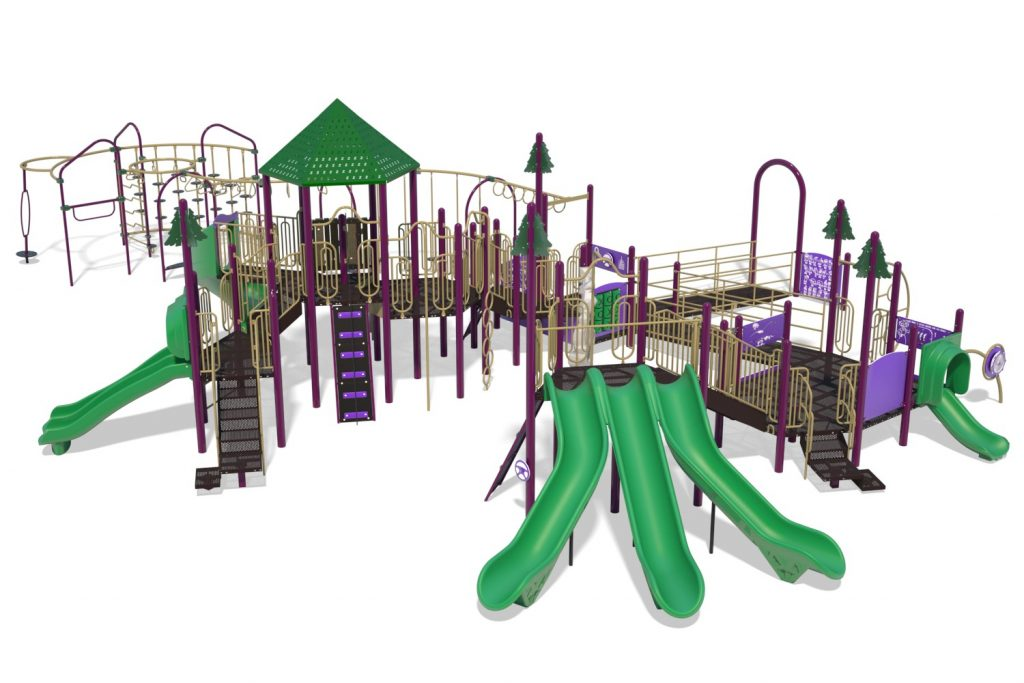 Playground Structure Model B502305R0 | Henderson Recreation