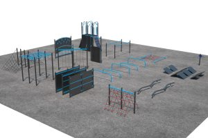 Exercise and Fitness Circuit Model L04251R0   Henderson Recreation