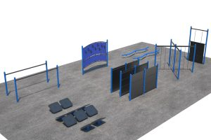 Exercise and Fitness Circuit Model L04253R0 | Henderson Recreation