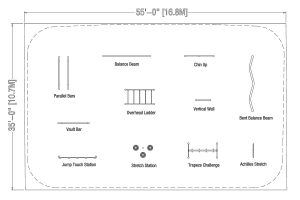 Drawings Layouts for playground | Henderson Recreation