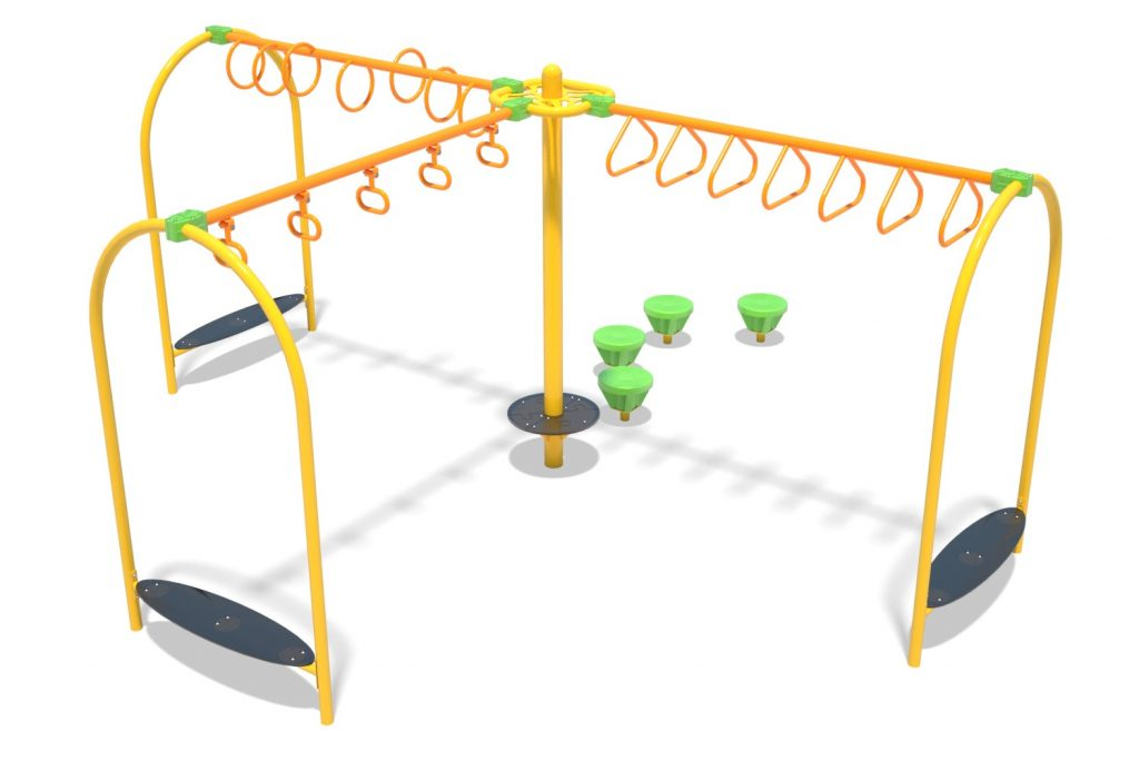 Playground Structure Model OB00450R0 | Henderson Recreation