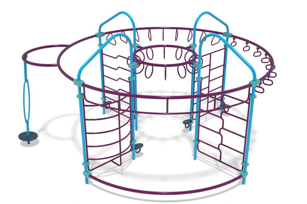 Playground Structure Model OB00454R0 | Henderson Recreation