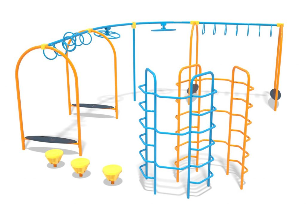Playground Structure Model OB00456R0 | Henderson Recreation