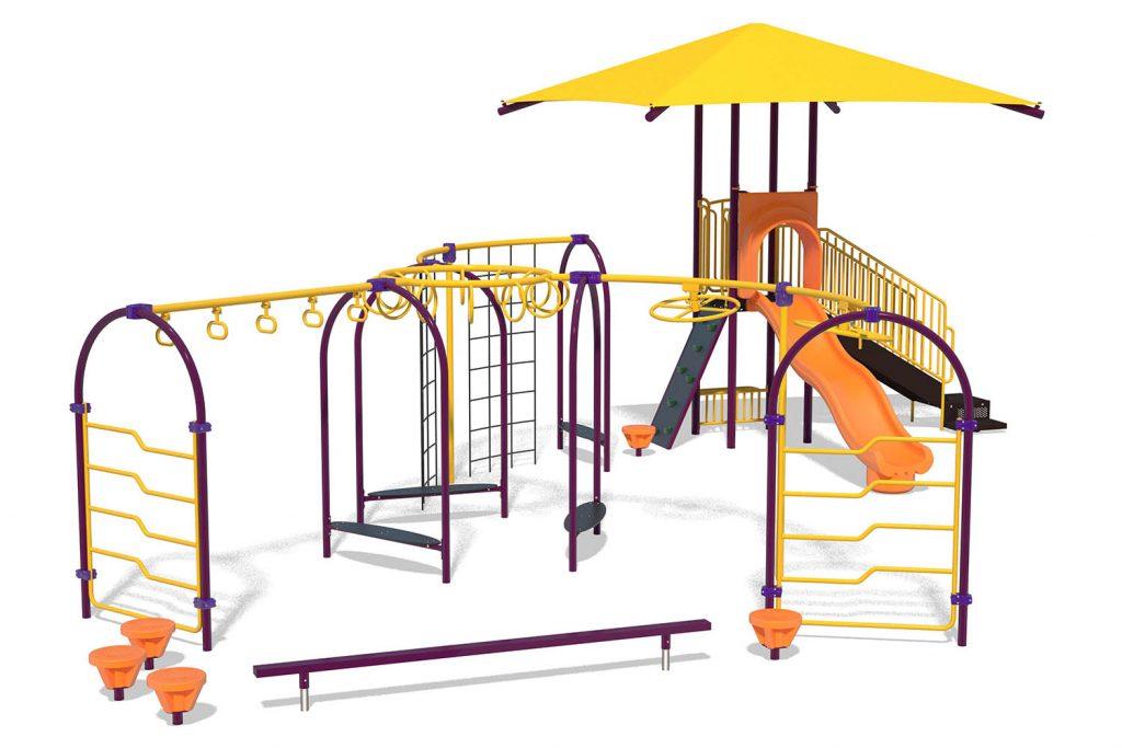 Playground Structure Model B303158R0 | Henderson Recreation