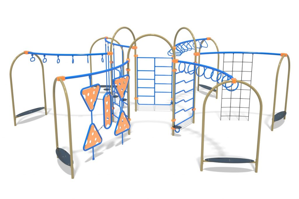 Playground Structure Model OB00464R0 | Henderson Recreation