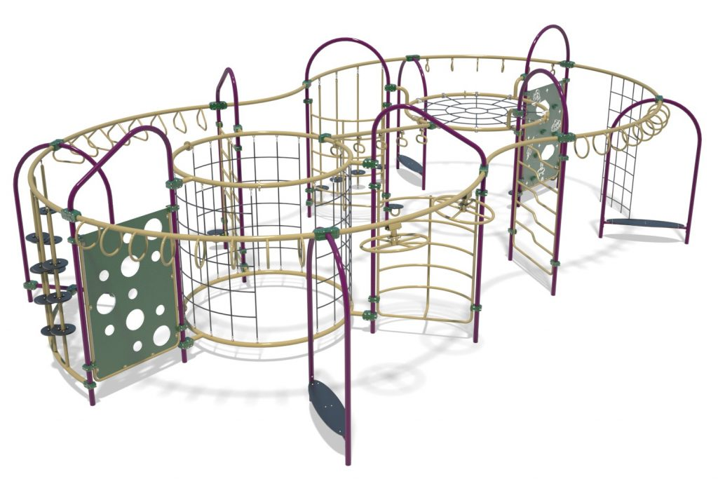 Playground Structure Model OB00470R0 | Henderson Recreation