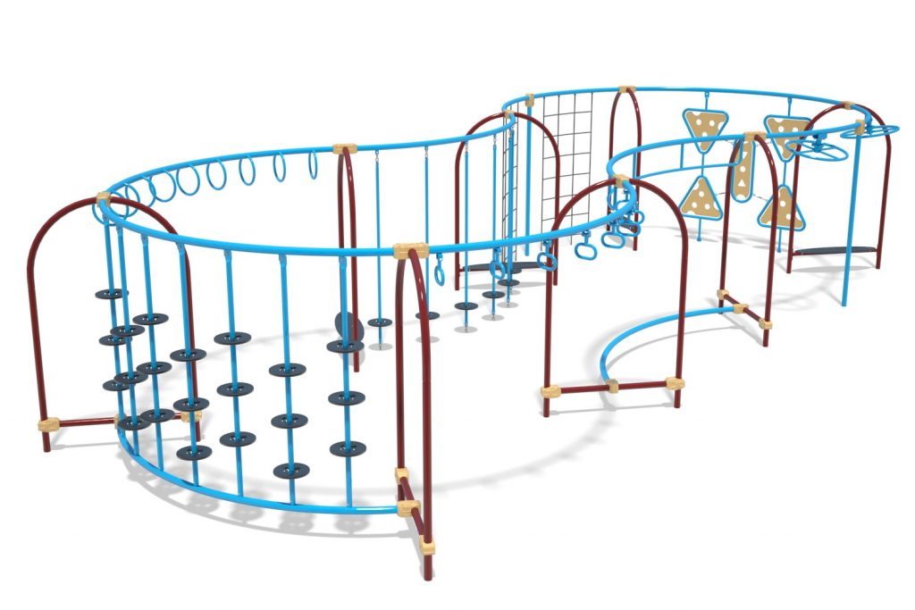 Playground Structure Model OB00472R0 | Henderson Recreation