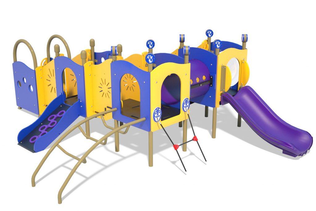 Playground Structure Model PT20067R0 | Henderson Recreation