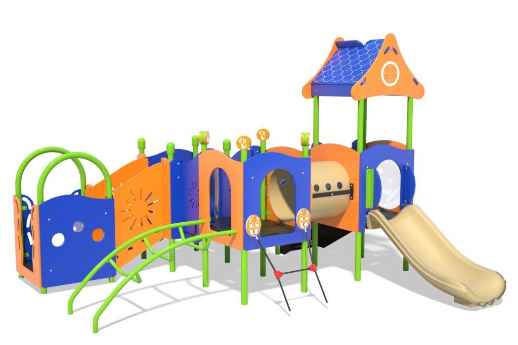 Playground Structure Model PT20069R0 | Henderson Recreation