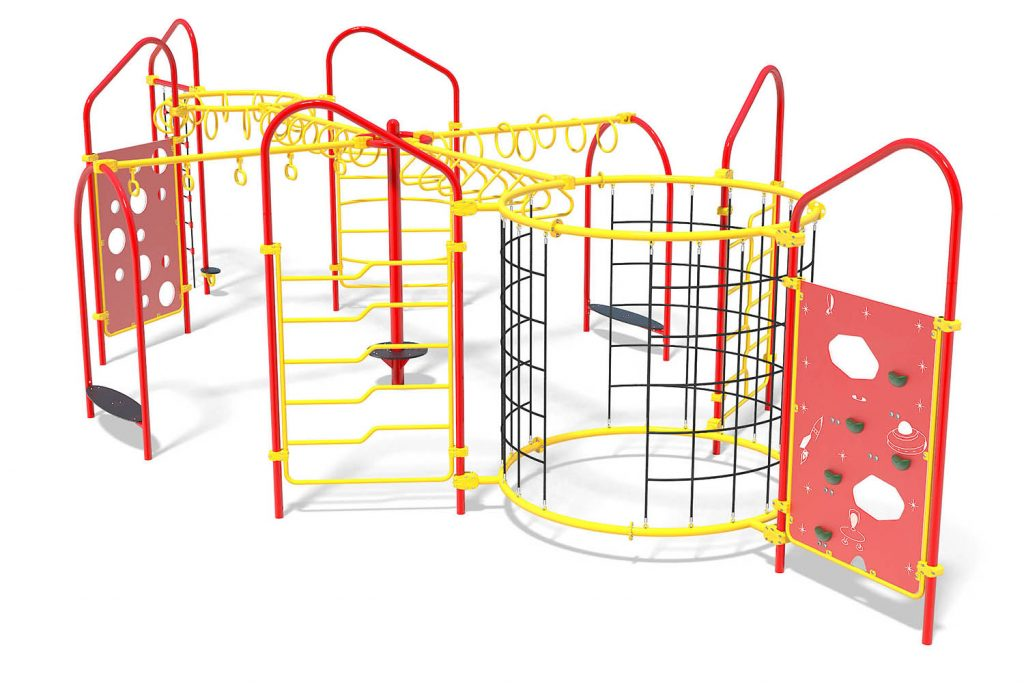 Playground Structure Model OB00377R0 | Henderson Recreation