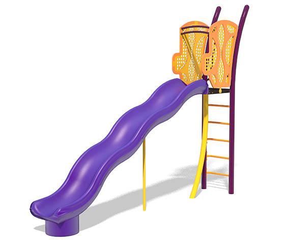 freestanding 6ft Wave Slide