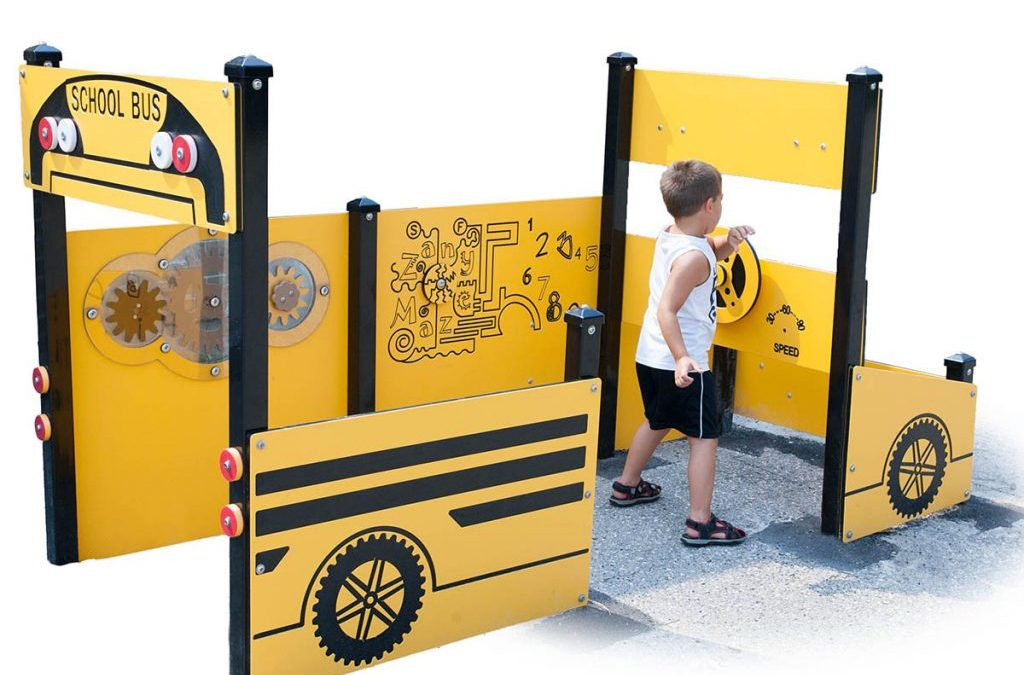 Playground equipment for children with special needs
