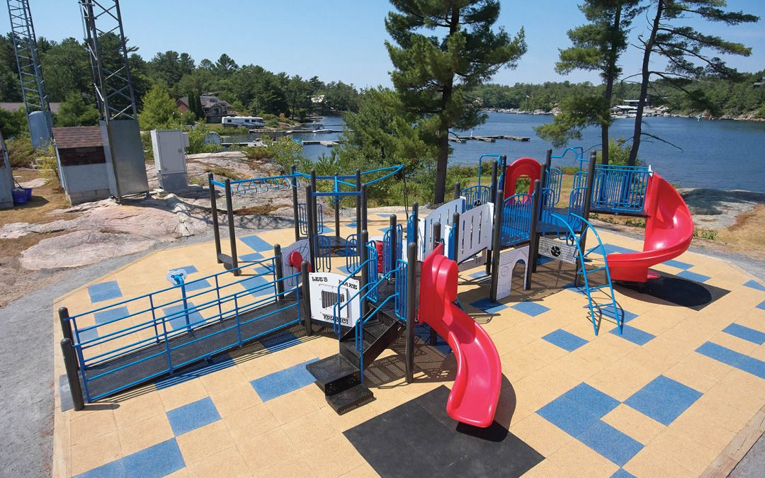 Importance of accessible playground equipment in Canada