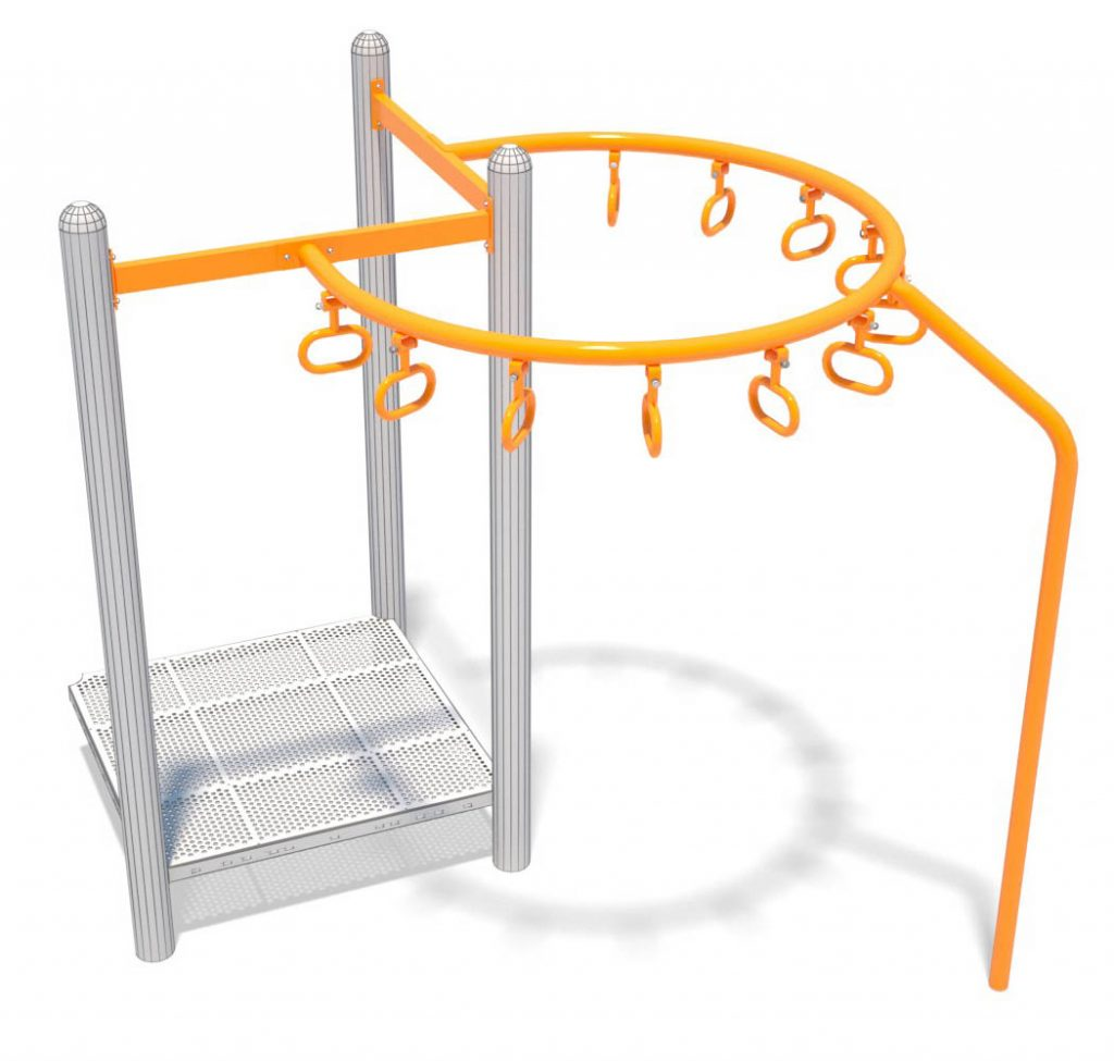 270° Trapeze Challenge Overhead