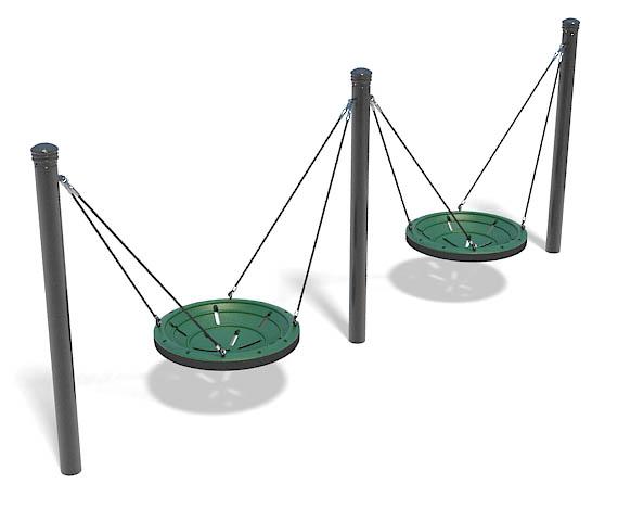 SA-SW391-00 - Multiuser Swing - 2-Bay